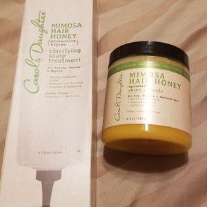 Used, Carols Daughter Mim.  Hair Honey Scalp n Pomade for sale